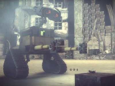 WALL·E - this i made for a tutorial - made with C4D.