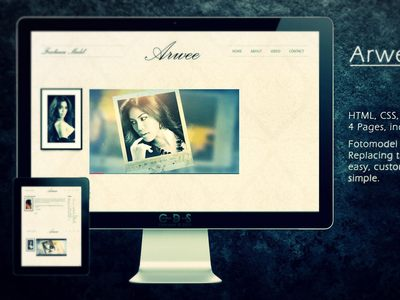 Arwee - Fotomodel Website | online...