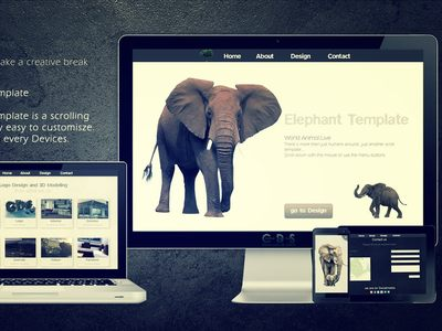 Elephant Template | online...